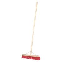 "24"" Stiff PVC Contract Platform Broom & Handle"