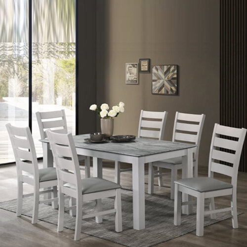 Alicante Dining Table & 6 Chairs