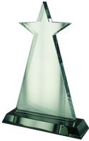 23cm Star Award on Black Base (Satin Box)