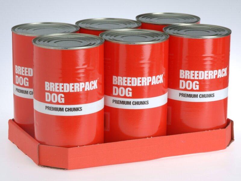 Breederpack Premium Chunks Dog 6 x 1200g