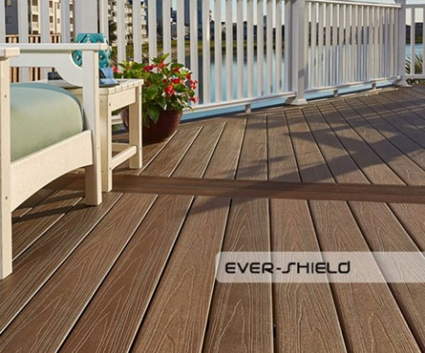 Composite Decking Timber Effect Silver Grey 140x22mm 3 6mtr - from €65 M2