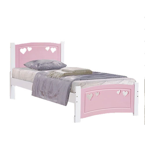 Sweetheart Pink Bed