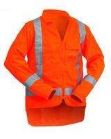Hi Vis TTMC-W Long Sleeve Safety Vest