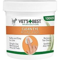 Vet's Best Clean Eye Round Pads 100 pad tub x 1