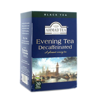 Decaffeinated Evening Enveloped Teabags (Ahmad Tea) 1x20