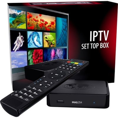 MAG 322/254 IPTV Set Top Box