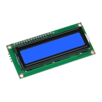 1602 LCD Character Module Display Blue