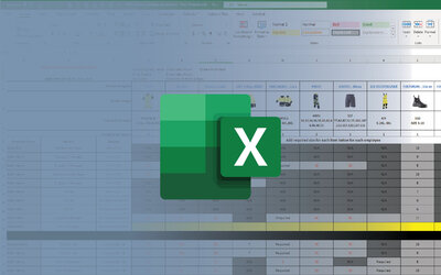 Free Excel Template To Manage Employee Uniform & Safety Gear