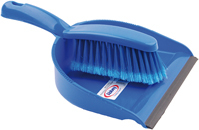 DUST PAN & BRUSH SET BLUE