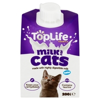 TopLife Cat Milk Formula 200ml x 18