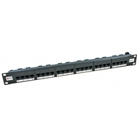 Connectix CAT6 24 Port Patch Panel