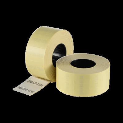 LYNX CT7 26x16mm Labels 'Best Before' White Permanent Printed Black (Box 30k)