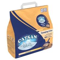 Catsan Clumping Cat Litter 5 Litre x 3