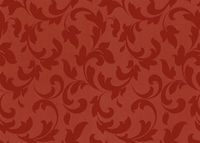 50CM X 100M RED PAISLEY COATED