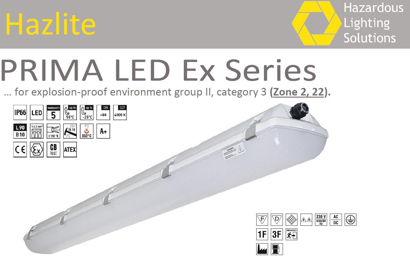 PRIMA LED Ex 1.4ft PCc 3200/840 3F