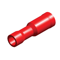 Red Term Socket | 4mm