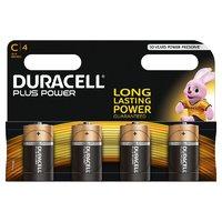 Duracell Plus MN1400 C Battery 4pk