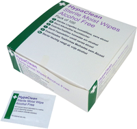 HypaClean Sterile Moist Wipes (100 per pack)