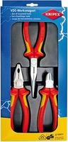 002012 3PC ELECTRO PLIER SET VDE