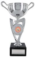 15cm Plastic Silver Cup to suit Centre(V202S)