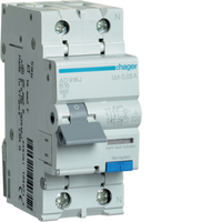 Hager 16amp RCBO B Type