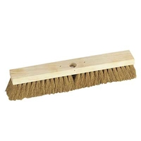 "18"" Soft Platform Broom, Natural Coco Fill"