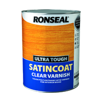 Ronseal Ultra Tough Varnish 5L Satin Coat