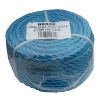 BLUE POLYROPE 8MM X 30MTR COIL