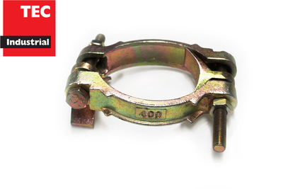 Two Bolt Clamp Plated Cast Iron