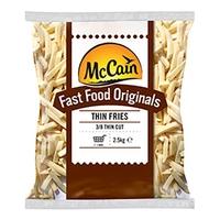 Chips (A Grade) 3/8 McCain 4x2.5kg