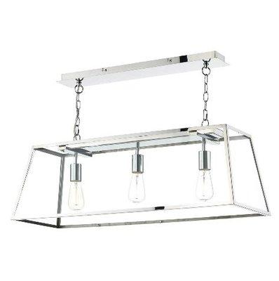 Academy 3 Light Pendant, Stainless Steel | LV1802.0042