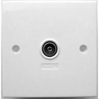 TV (IEC),  Single, 1 Way Wall Plate (304122)