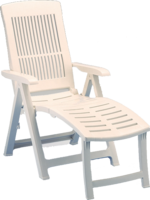 Florida Multi Position Lounger - White