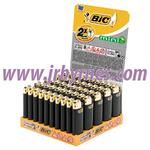 Bic Mini Black Lighters J25 x50