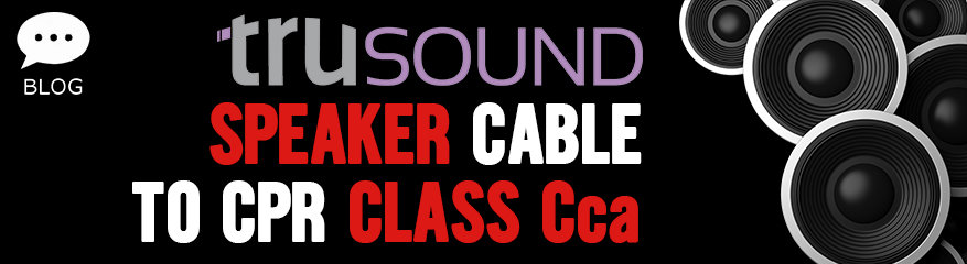 TruSound Multicore Speaker Cable to CPR Class Cca