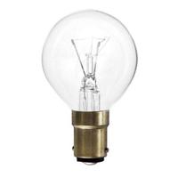 Solus 40 WT SBC Clear Round Bulb