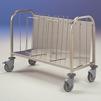 Plate & Gatronorm Pan Trolley 1125x500x790mm