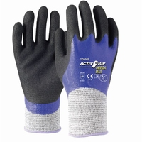 ActivGrip Omega Max Cut 5 Double Nitrile Full Dip Glove