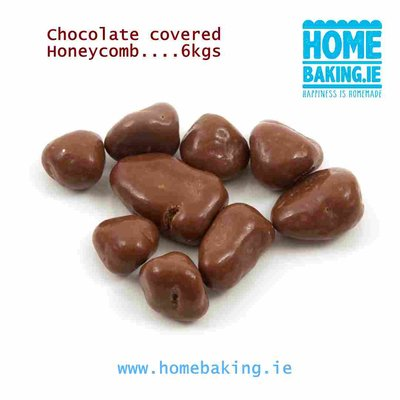 CHOCOLATE HONEYCOMB PIECES 5-10mm 6 KGS
