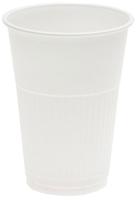White Plastic Cup 200ml Ctn 1000