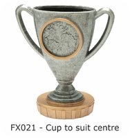 Cup Figure 75mm (Silver & Gold)