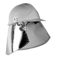 Protective Aluminised Helmet Cape