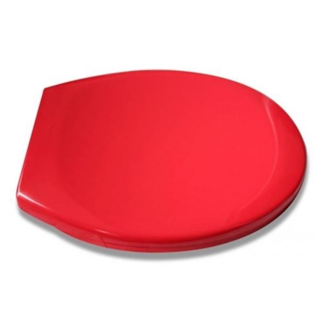 coloured soft close toilet seat.  Coloured Soft Close Toilet Seat Red toilet seat Homecare Medical Supplies