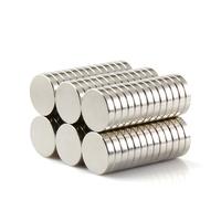 NEODYMIUM MAGNETS | DISK 20X2MM N35 NICKEL