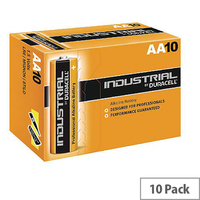 Duracell AA 10 Pack Industrial