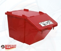 STACKABLE CONTAINER/LID 45ltr RED