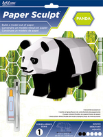 Paper Sculpt Panda Novice. (Priced in singles, order in multiples of 3)