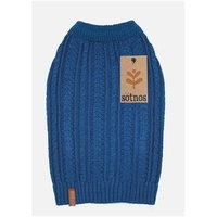 Sotnos Cable Knit Sweater - Large Teal x 1