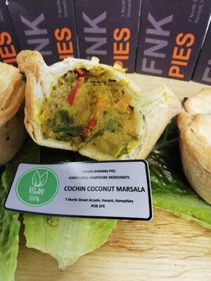 FNK 100% Vegan Pie - Cochin Coconut Marsala