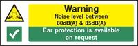 Warning and Machinery Hazard Sign WARN0011-1797